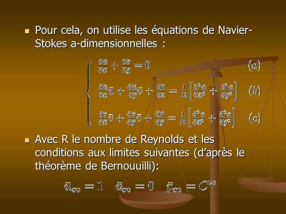 Equations dimensionnelles