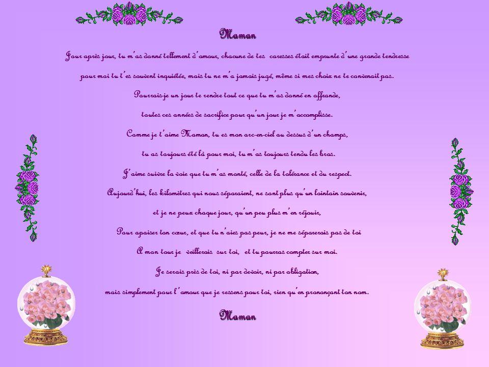 Message Damour à La Plus Merveilleuse Des Mamans Ppt