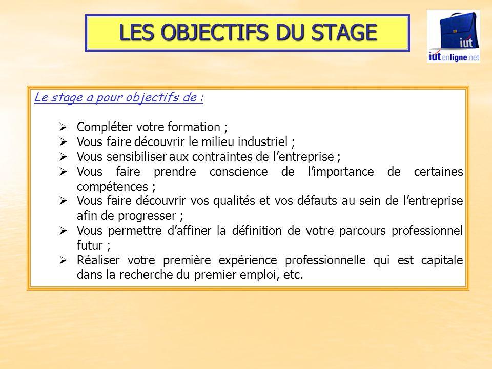 Le Stage Un Projet Personnel Ppt Video Online Telecharger