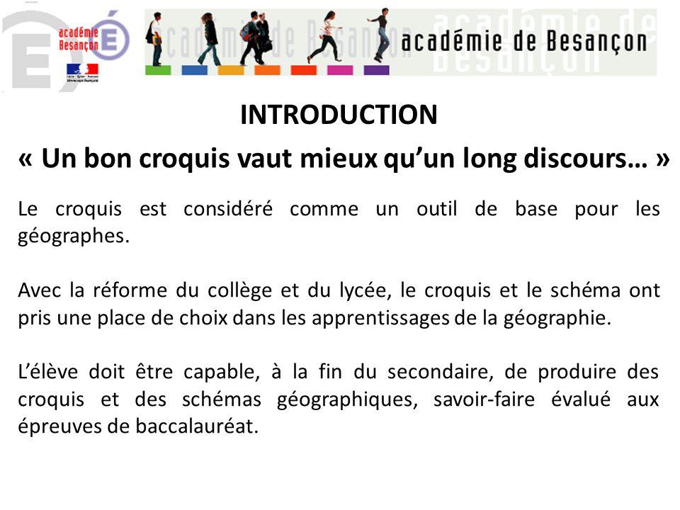 Le Croquis Schema Dans L Enseignement De La Geographie Ppt