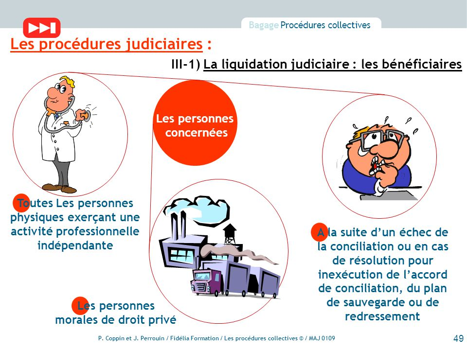 Les Procedures Collectives Ppt Telecharger