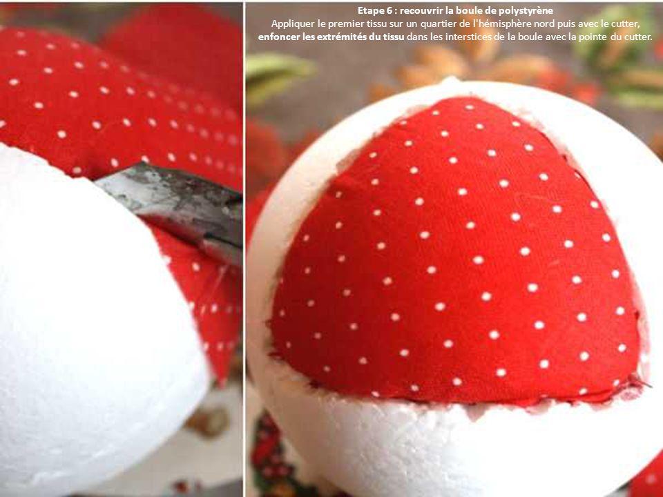Fabrication De Boule De Noel En Polystyrene.Fabriquer Une Boule De Noël En Tissu Patchwork Ppt Télécharger