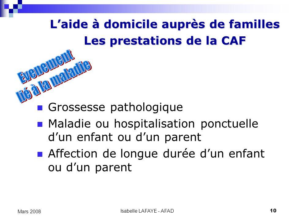 Aide Caf Longue Maladie