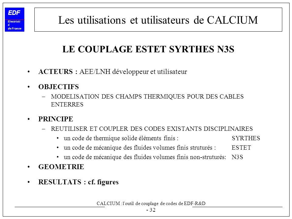 calcium l 39 outil de couplage de codes de edf r d ppt video online t l charger. Black Bedroom Furniture Sets. Home Design Ideas