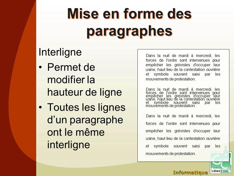 Mise En Forme Efficace D Un Document Logiciel Microsoft Word Ppt
