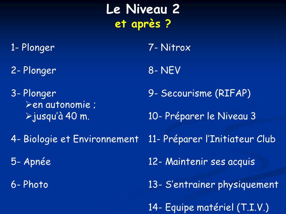 apnéiste niveau 2