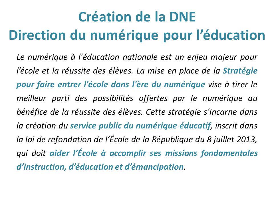 Direction Du Numerique Pour L Education Dne Ppt Video Online