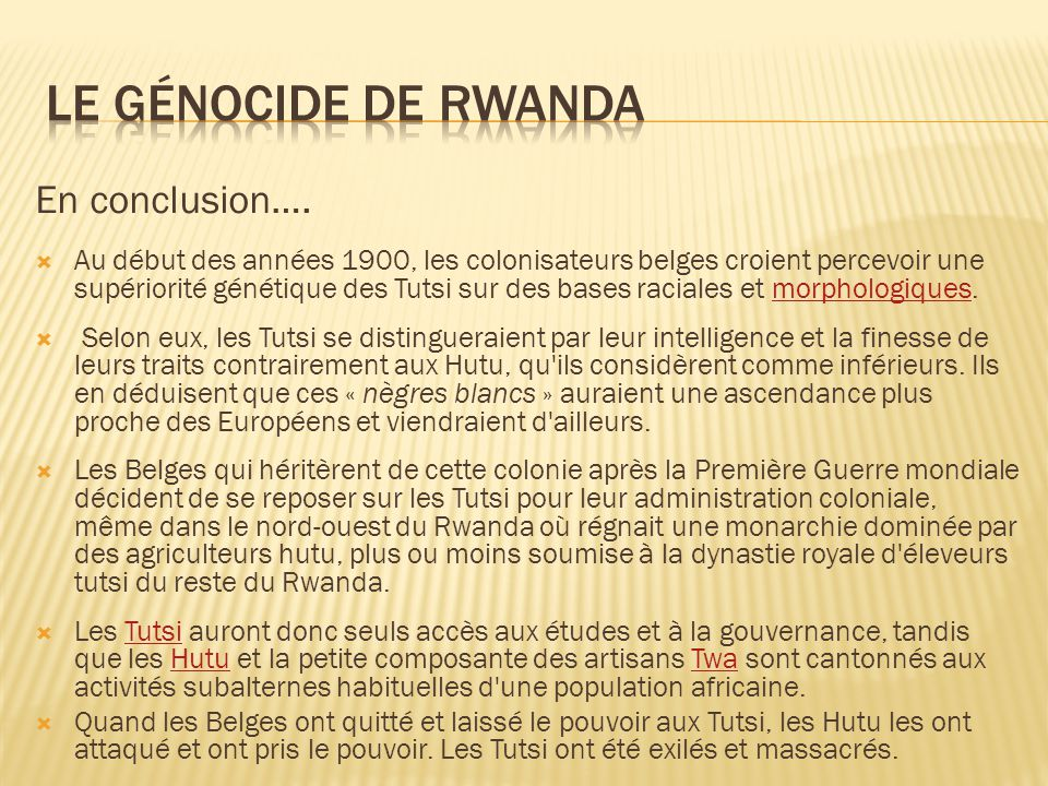 Environmental causes and impacts of the genocide in Rwanda