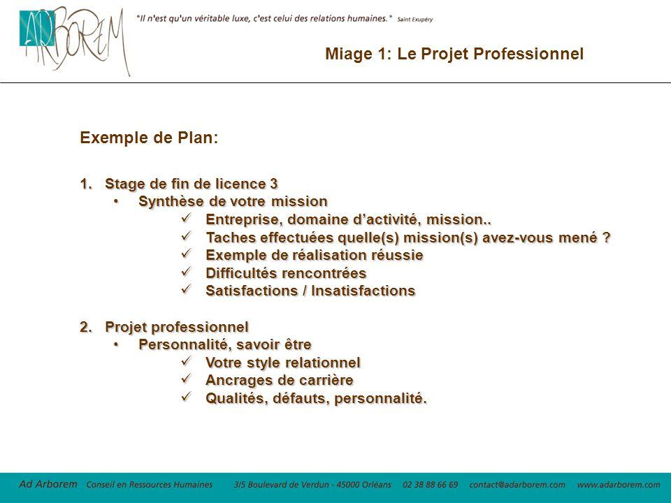 Miage 1 Le Projet Professionnel Ppt Video Online Telecharger