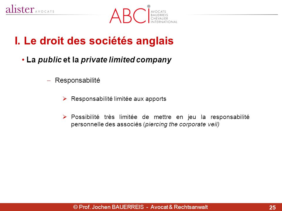 Droit Compare Des Societes Ppt Telecharger