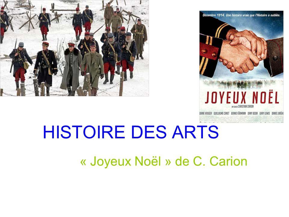 Film Joyeux Noel De Christian Carion.Joyeux Noel De C Carion Ppt Telecharger
