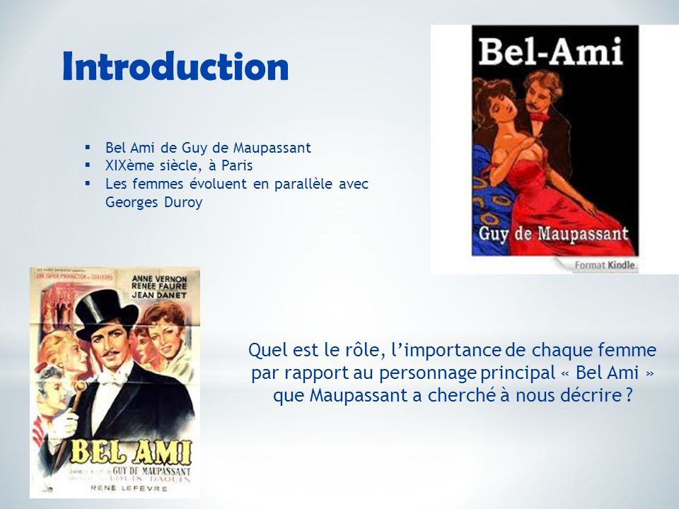 introduction de bel ami