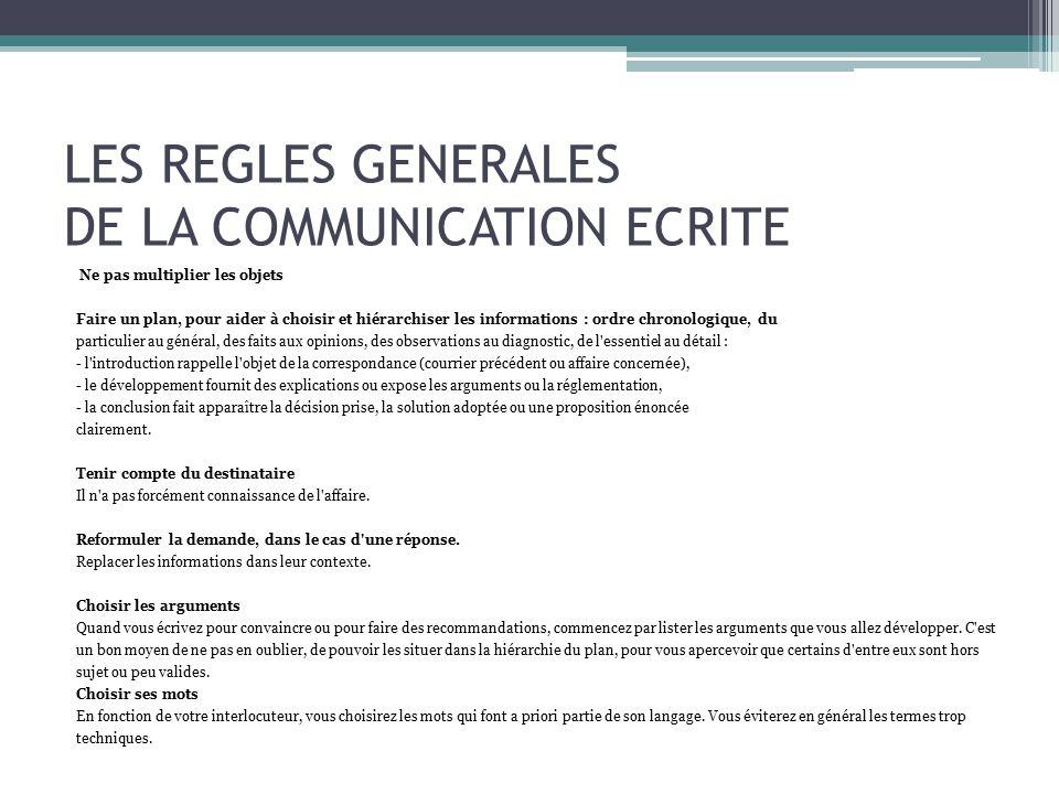 bd3f86c77ed Communication administrative comment ecrire une lettre administrative  gratuit