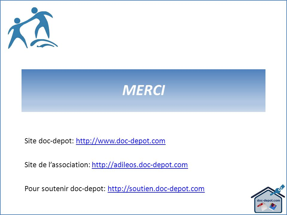 MERCI Site doc-depot:   Site de l'association: