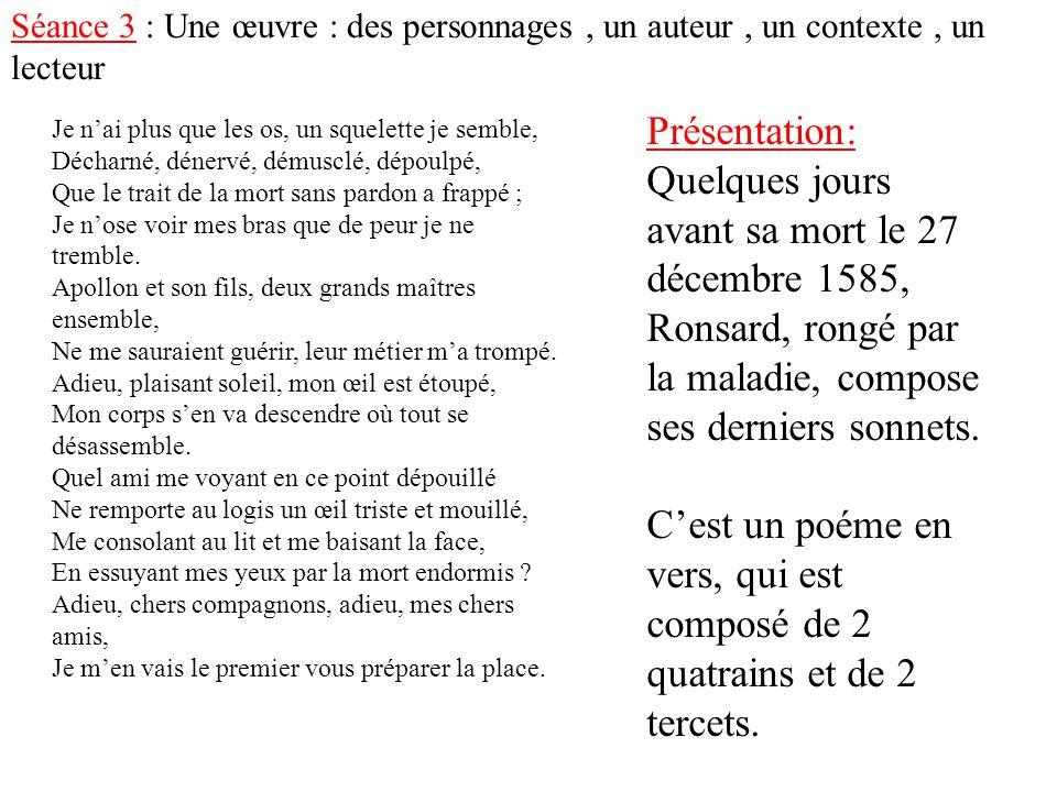 Pierre Ronsard Poète Ppt Télécharger