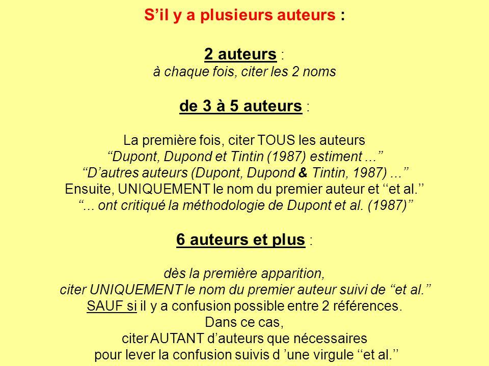 Normes Bibliographiques Et De Citation De L A P A 5ème édition