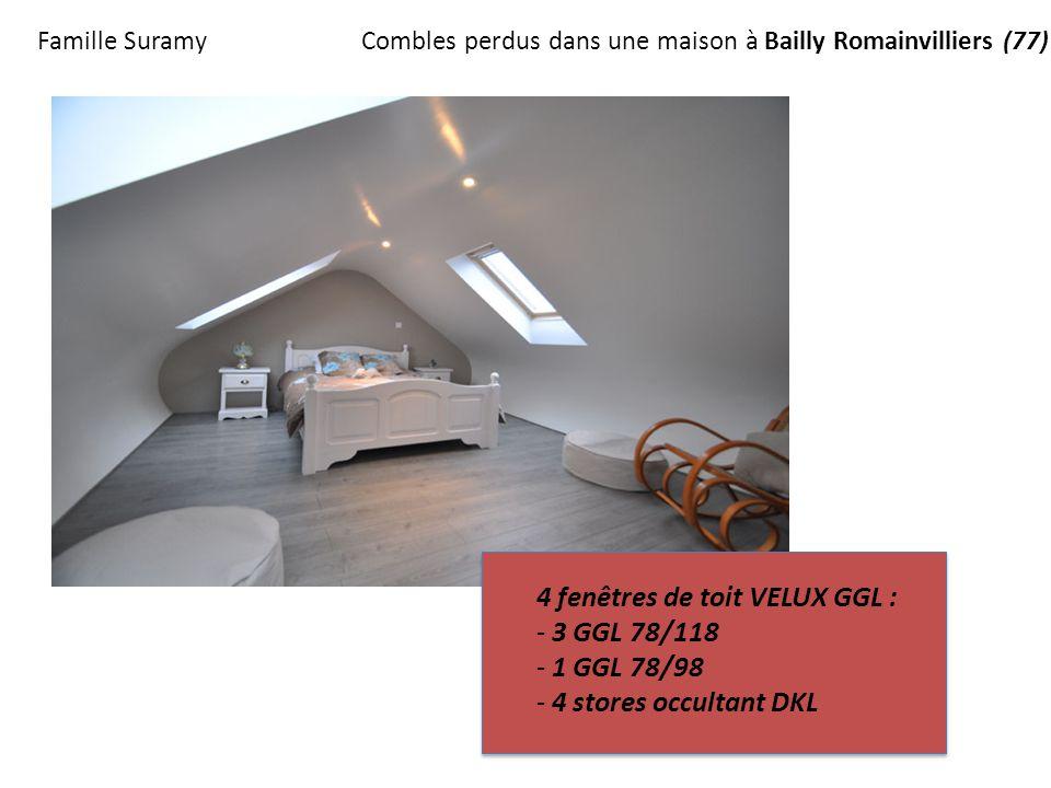 4 fen tres de toit velux ggl 3 ggl 78 118 1 ggl 78 98. Black Bedroom Furniture Sets. Home Design Ideas