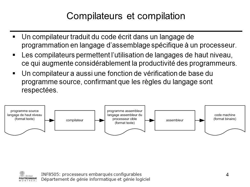 conception et implementation de compilateurs