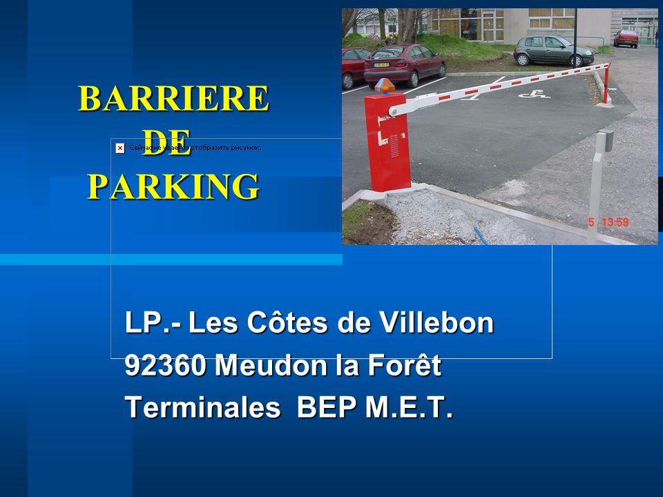 Cote De Villebon lp.- les côtes de villebon meudon la forêt terminales bep m.e.t.