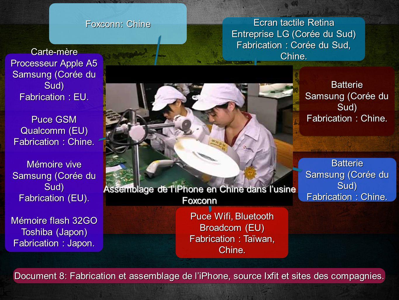 Carte Mere Iphone  Chine
