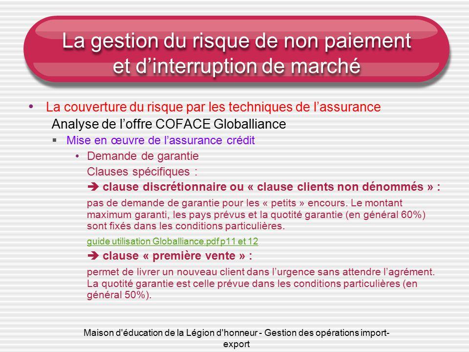 assurance crédit pdf
