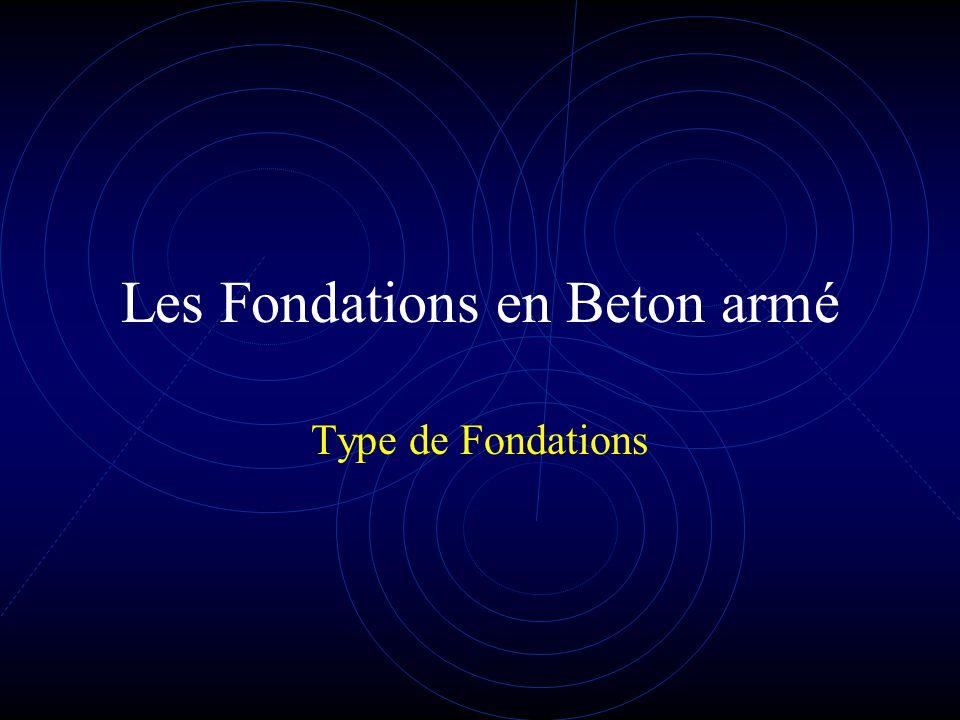 les fondations en b ton arm ppt video online t l charger. Black Bedroom Furniture Sets. Home Design Ideas