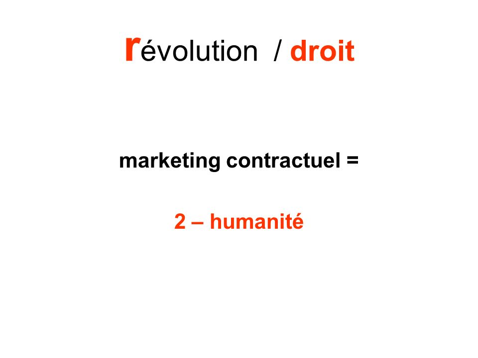 marketing contractuel =