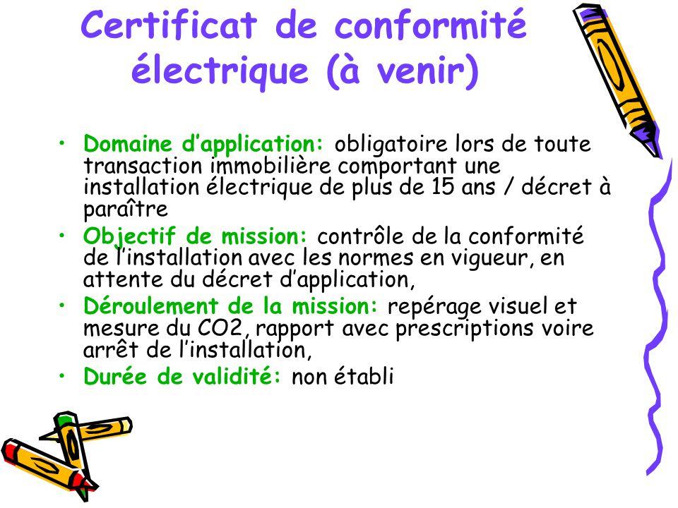 Certificat De Conformité Maison Obligatoire Ou Pas ... - Certificat De Conformité Maison