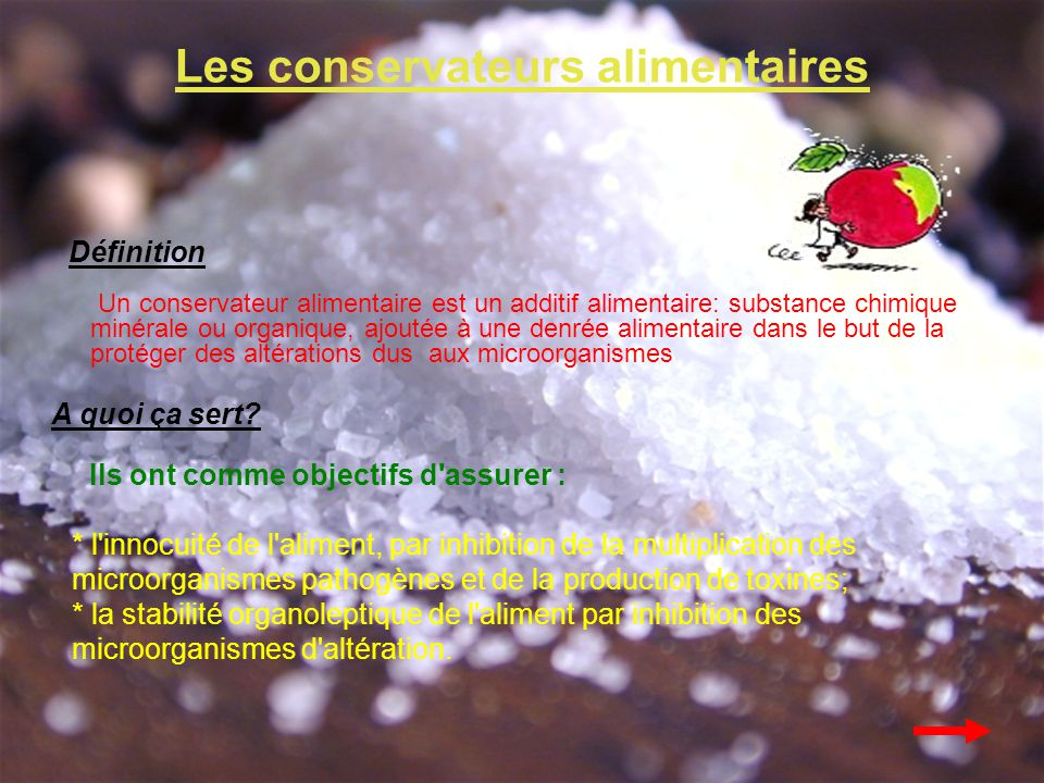 CONSERVATEURS ALIMENTAIRES PDF DOWNLOAD