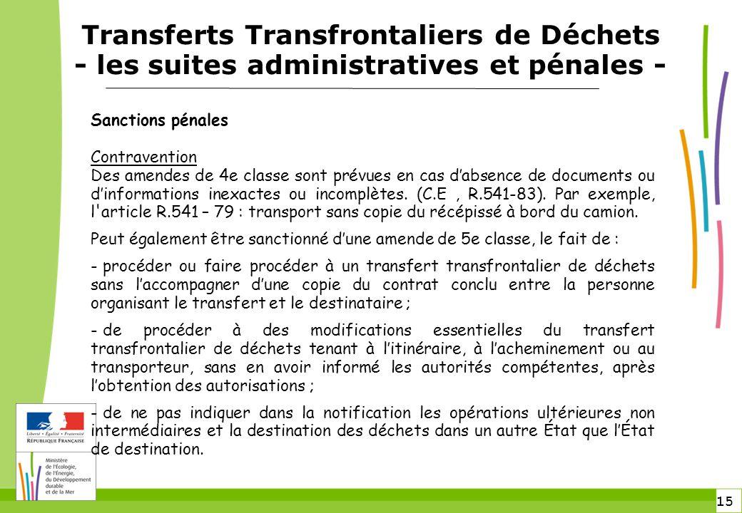 transferts transfrontaliers de d chets ppt video online t l charger. Black Bedroom Furniture Sets. Home Design Ideas