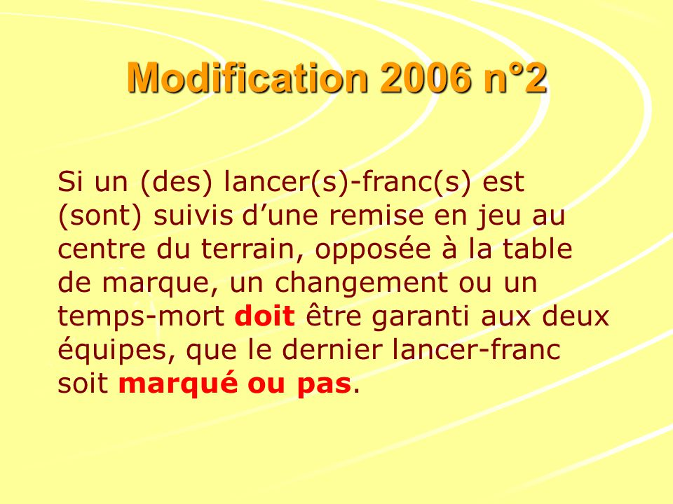 Modification 2006 n°2