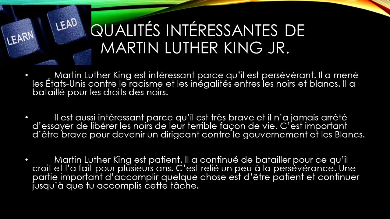 martin luther king jr par daniel d evan r devyn d derrick l ppt t l charger. Black Bedroom Furniture Sets. Home Design Ideas