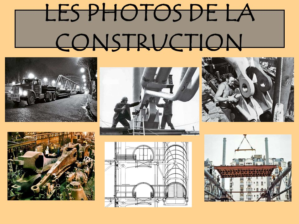 LES PHOTOS DE LA CONSTRUCTION