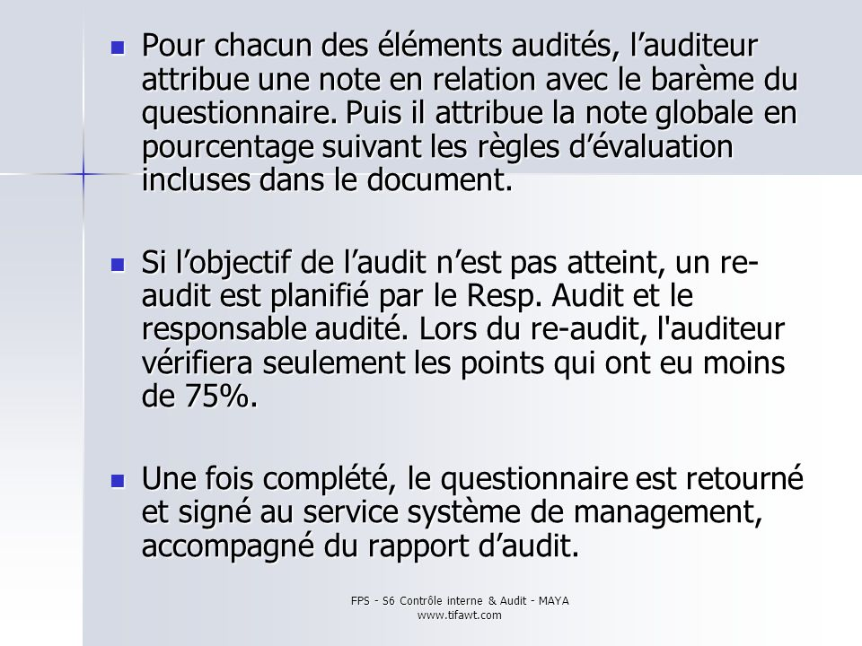 contr u00d4le interne  u0026 audit