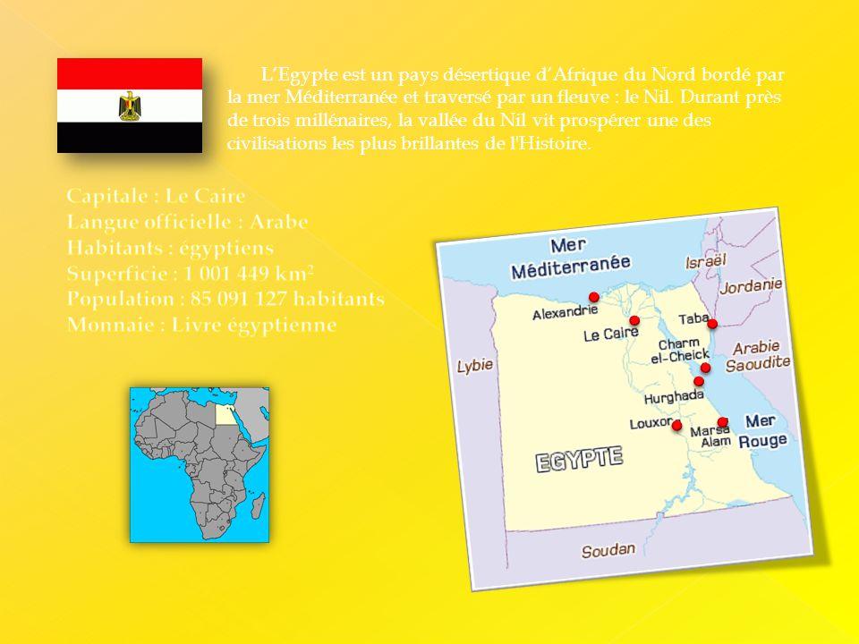 Egypte La Terre Des Pharaons Ppt Telecharger