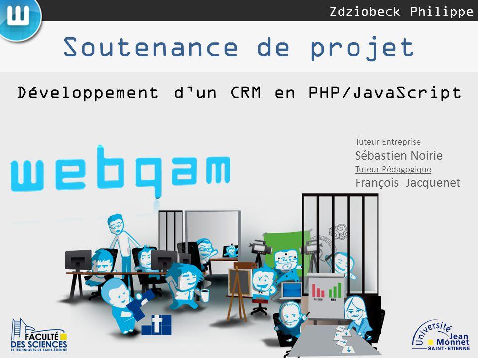 Développement d'un CRM en PHP/JavaScript - ppt télécharger