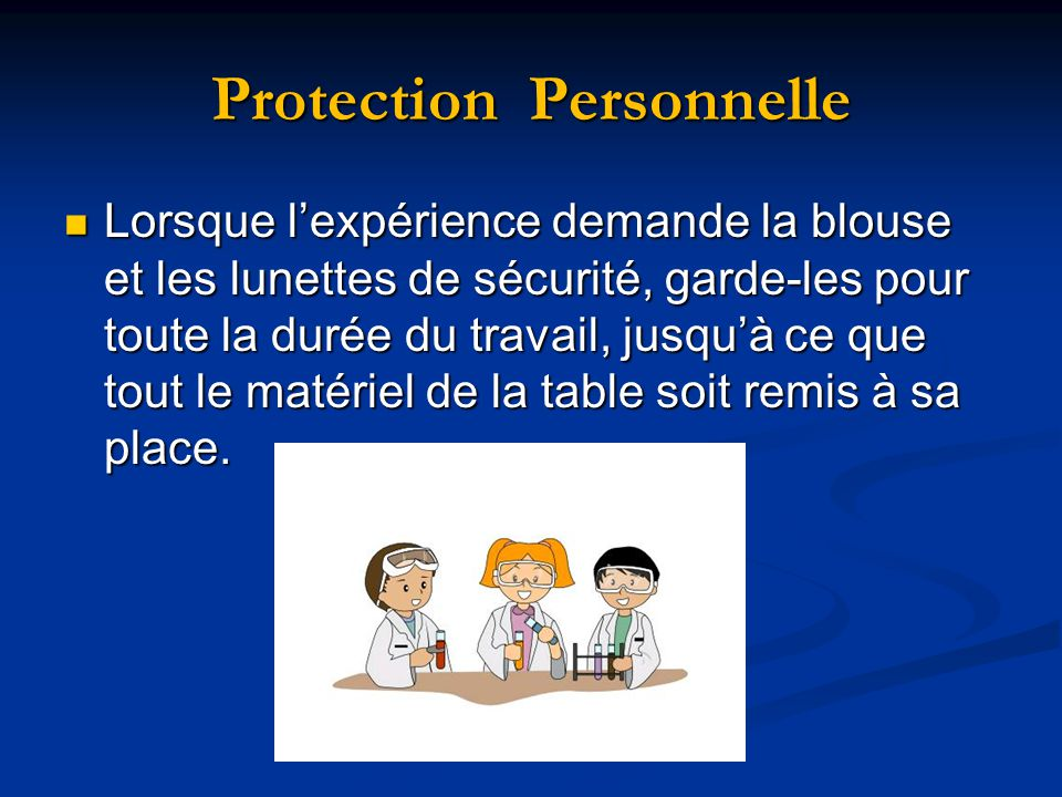 Protection Personnelle