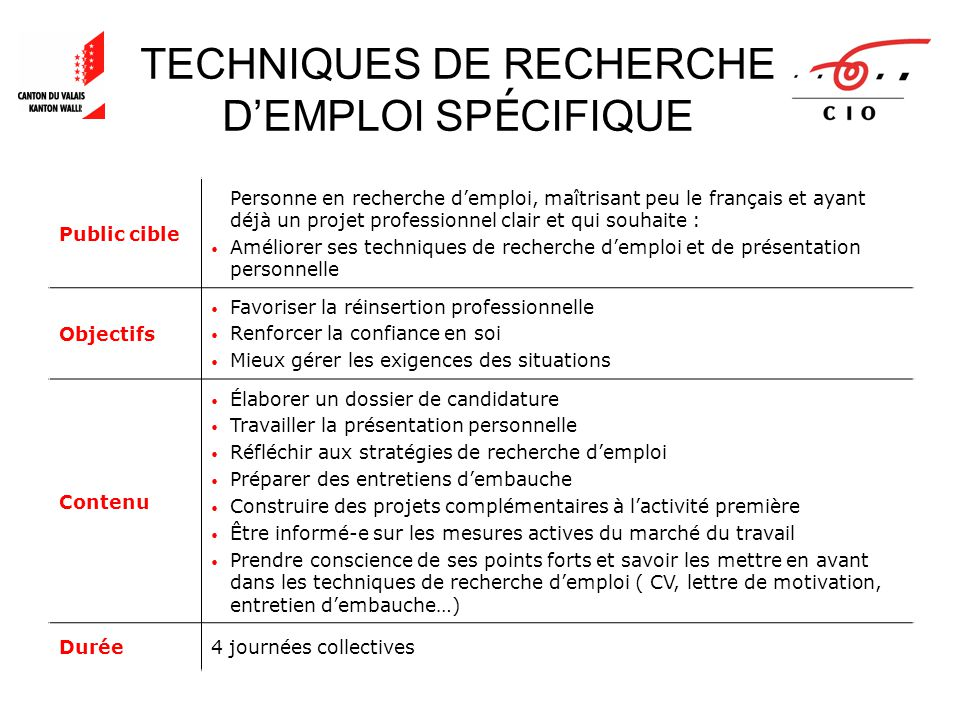 table des mati u00c8res office d u2019orientation scolaire et