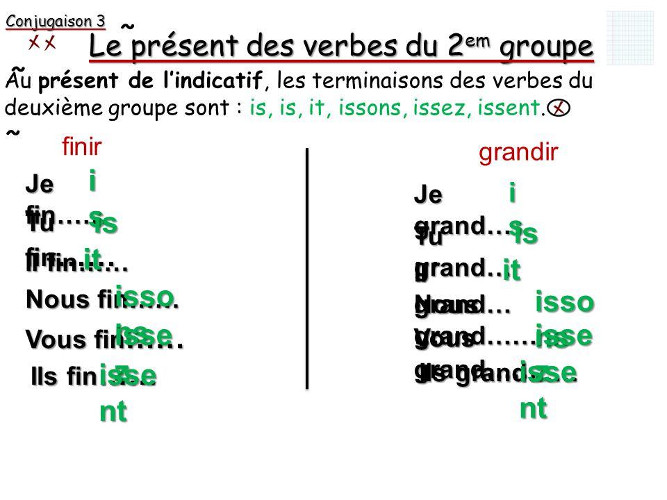 Le Present De Verbes En Ir Du 2em Groupe Ppt Video Online Telecharger