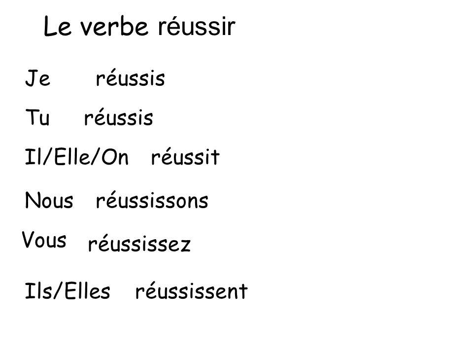 """Résultat de recherche d'images pour """"réussir verbe"""""""