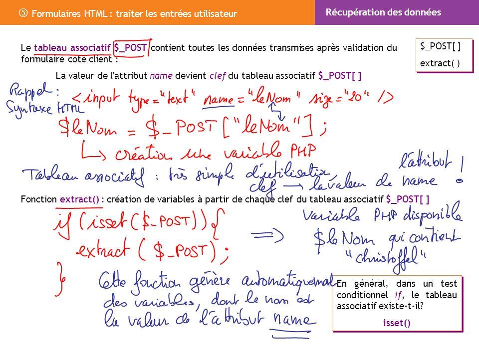 Formulaires Html Traiter Les Entrees Utilisateur Ppt Telecharger