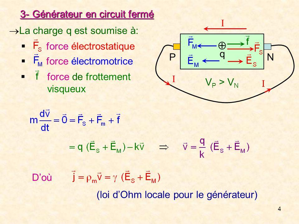 Electrocinetique Chap 3 Chapitre 3 Generateurs Et Recepteurs Ppt