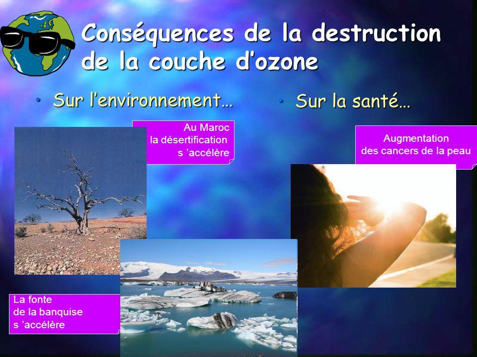 Ma triser le changement climatique ppt video online - Consequences de la destruction de la couche d ozone ...