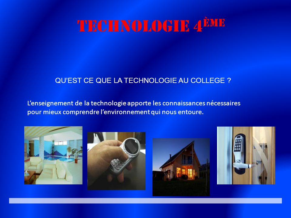 la technologie en 4 me ppt video online t l charger. Black Bedroom Furniture Sets. Home Design Ideas