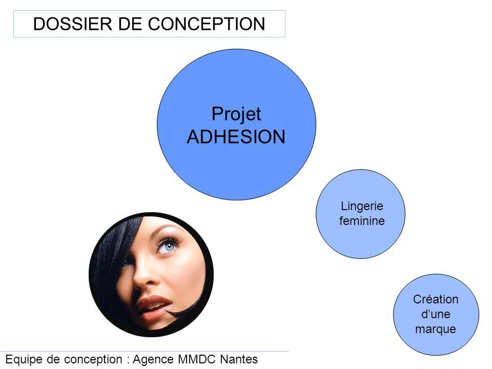 grand choix de 46073 d1933 Projet ADHESION DOSSIER DE CONCEPTION Lingerie feminine ...
