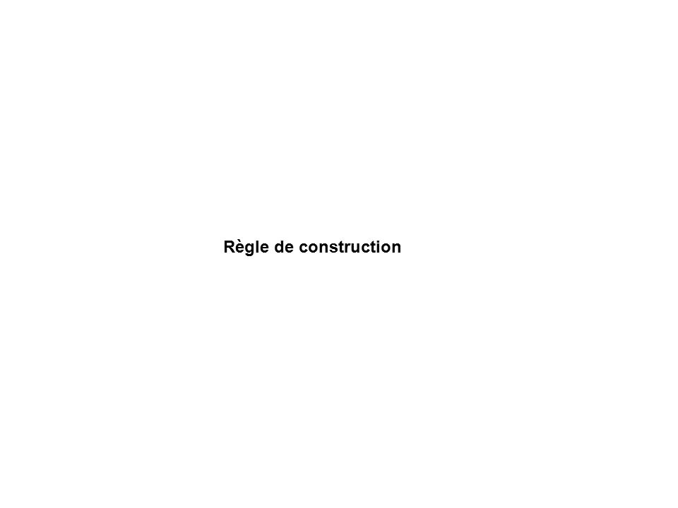Règle de construction