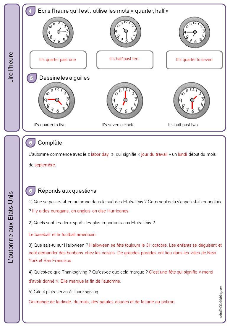 evaluation 6eme anglais