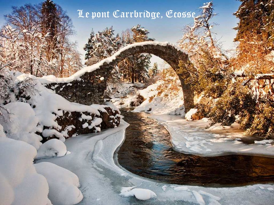 Le pont Carrbridge, Ecosse