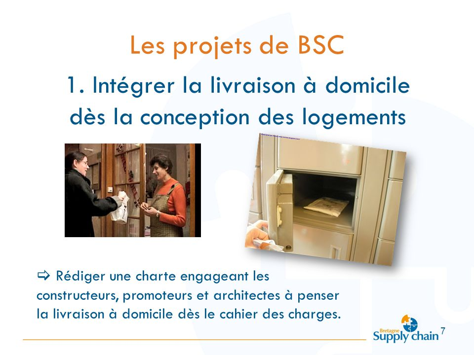 les projets de bretagne supply chain ppt t l charger. Black Bedroom Furniture Sets. Home Design Ideas