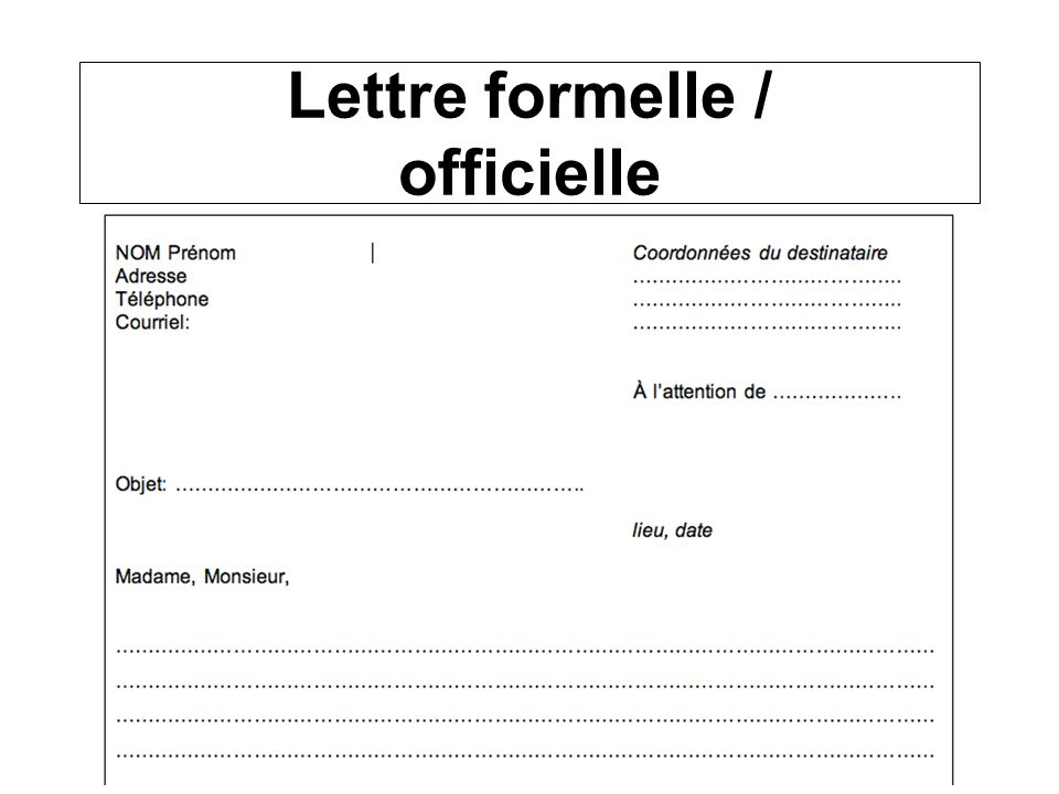 Lettre Officielle Kalde Bwong Co